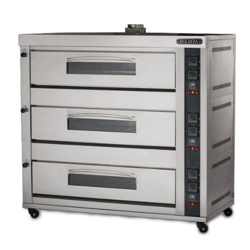 GAS HEATED BAKING OVEN (PRM Series)