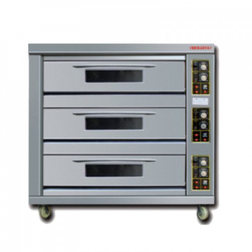 GAS HEATED BAKING OVEN (BD Series)