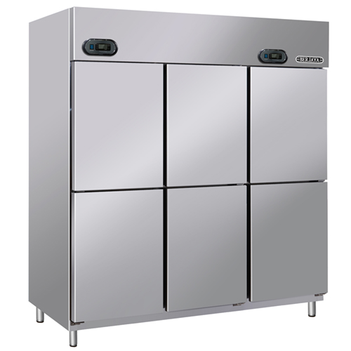 DUAL UPRIGHT CHILLER & FREEZER