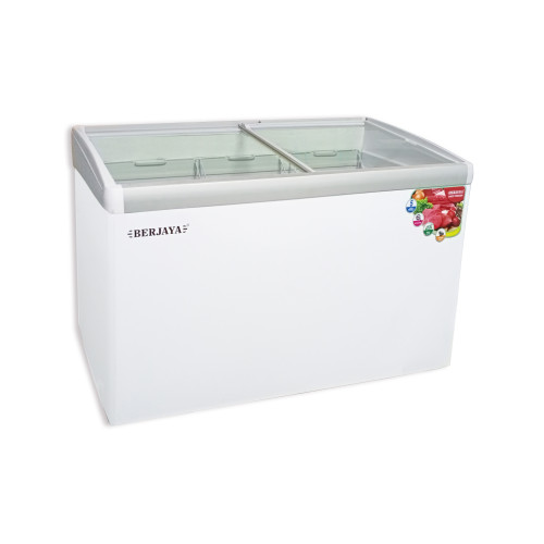 CHEST FREEZER (GLASS SLIDING DOOR WITH LED LIGHT)