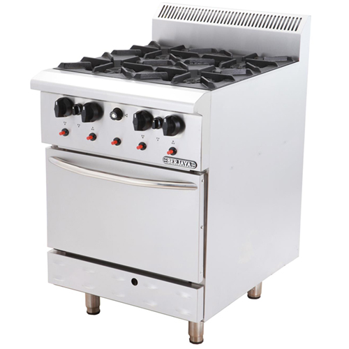 DELUXE RANGE OVEN WITH OPEN BURNER