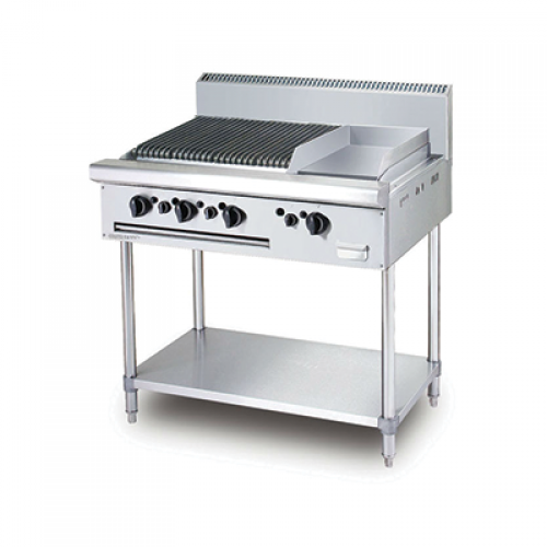 COMBINATION CHAR BROILER   GRIDDLE