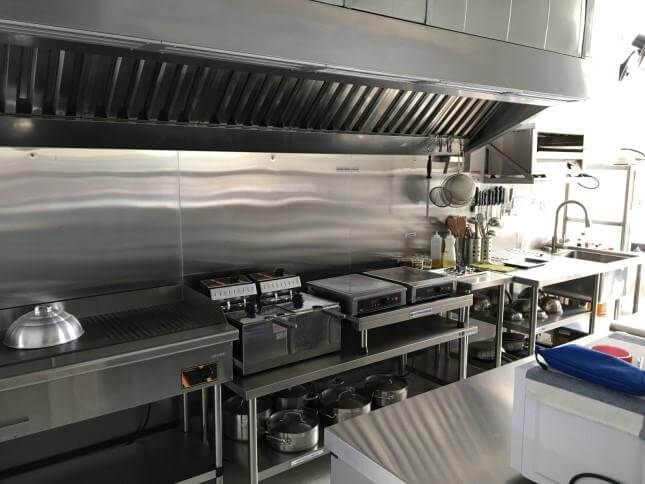 Exhaust hood and ducting services
